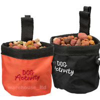 Dog Treat Bag & Belt Clip TRIXIE Snack Baggy Activity Training Reward 2 Colours