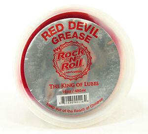 Rock N Roll Red Devil All Purpose Grease Road MTB Urban Cycling 16oz