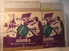 2x Frankie Lymon & Teenagers - 1957 UK
