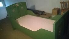 Bauernbett bemalt mit Lattenrost und Matratze