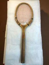New listing Scarce Antique Vintage HARRY C LEE NEW YORK DRIVER MODEL Tennis Racket Racquet