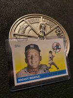 Mickey Mantle 2008 Topps Card No. 46 New York Yankees Man Cave GIFT Collector