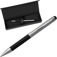 HUGO BOSS Kugelschreiber schmal - Eingabe Stift Touch - Ballpoint Pen thin slim