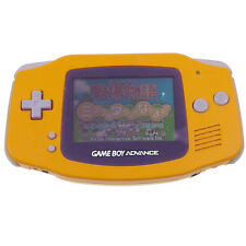 Nintendo Game Boy Advance Orange Console Only AGB-001 Japan Import GBA Working !