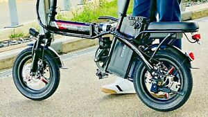 350W EBIKE FOLDING Lithium E ELECTRIC BICYCLE - ADULT SIZE - UNIQUE DESIGN