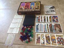 Vintage DRAGONMASTER Board Card Game 1981 Milton Bradley Fantasy Mythical