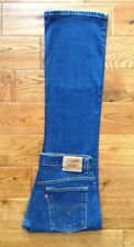 FABULOUS! RARE! VTG Levis 515 BootCut Lower Rise Stretch Jeans 12 M W32 L32 HTF!