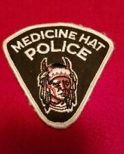 Medicine Hat Alberta Canada Police Patch
