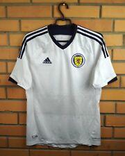 Scotland soccer jersey small 2011 2013 away shirt X11773 football Adidas