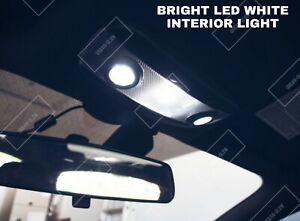 For Ford Fiesta MK7 2009-2017 Bright White INTERIOR LED Light Bulbs UPGRADE KIT