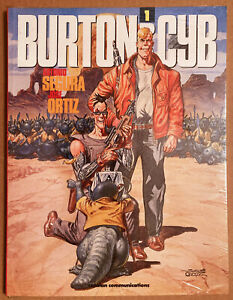 BURTON & CYB 1 Antonio Segura / Jose Ortiz. Catalan 1991. Sealed.