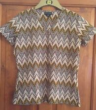 Warehouse V neck top - rarely worn - size UK16 - bought in mid 1990s