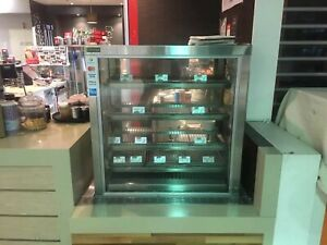Commercial Restaurant Cossiga counter top Heated Display cabinet RRP Over $3900