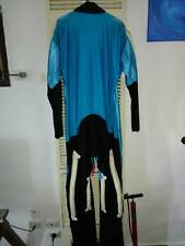 (TADS)Skydiving jump suit Lrg-Med size. black, blue and white in colour.