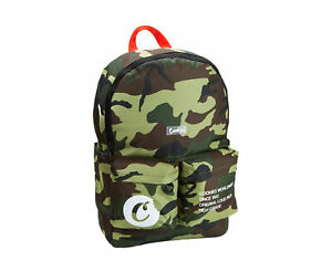 Cookies Orion Canvas Smell Proof Green Camo Backpack 1540A3775-GRC
