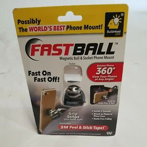 As Seen On TV Fastball Magnetic Car Cell Phone Mount/Holder by BulbHead –