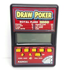 Draw Poker By Radica Portable Electronic Games Tested