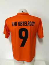 maglia calcio Olanda 9 Van Nistelrooy tag.S home shirt trikot maillot MC769