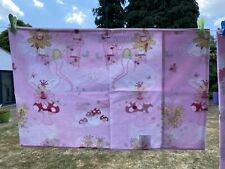 NEXT GIRLS PINK FAIRY CASTLE SINGLE BED SET PILLOWCASE FAIRIES