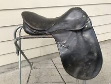 Charles De Kunffy English Dressage Saddle Made in Germany 18.5""