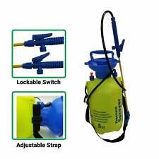 5 Litre Garden Spray Pressure Bottle Manual Weed Pump Chemical Shoulder strap
