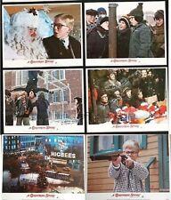 The Christmas Story original Lobby card  Set of 6