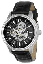 Invicta Men's IN-22577 Vintage 45mm Black Dial Leather Watch