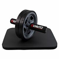 Viavito Ab Exercise Wheel - Abdominal Core Strength Gym Fitness Training Roller