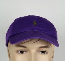 Polo Ralph Lauren Purple Green Pony Baseball Ball Cap Hat NWT