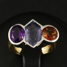 """Edelstein Ring mit ca. 4,00 ct. Marke """"Katzler""""   6,9g 585/- Gelb-/Weißgold"""