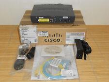 NEW Cisco 878-sec-k9 G. SHDSL Router with Security Plus feature SDSL DSL New Open