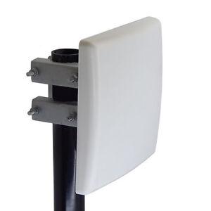 Directional 2.4GHz Wifi 802.11bgn 16dBi Panel Patch Antenna N-Female