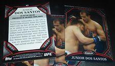 Junior Dos Santos UFC 2011 Topps Finest Card #47 160 155 146 131 117 108 103 95