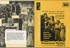 TENNESSEE'S PARTNER BRITSH 1955 4 PAGES RONALD REAGAN RHONDA FLEMING RARE!
