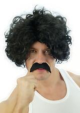 hommes Cosplay 118 118 Modèle Perruque + Moustache Cheveux Bouclé