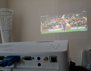 Multimedia Projector Sanyo PLC-XW200 You can even project the football!!