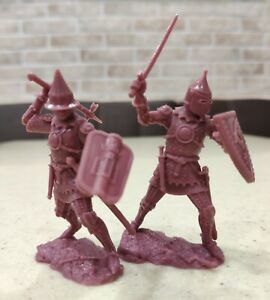 Collectible Plastic Toy Soldiers Publius Knight Limited Edition 1:32 54 mm