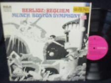 """Charles Munch """"Berlioz:Requiem, Op.5"""" Double LP"""