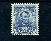 USAstamps Unused FVF US 1902 Lincoln Scott 304 OG MVLH