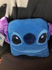 """Disney Stitch Fleece Throw Pillow Blanket 50"""" x 50"""" Nwt"""