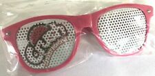 NEW Retro Collectors Crush Soda Sunglasses Pink Watermelon Mesh Screen Plastic