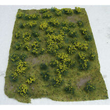 JTT (HO-Scale) 95605 Scenery 5x7 Landscaping Details YELLOW Flowering Meadow NIB