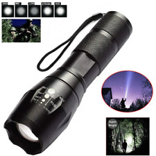 Super Bright Zoomable LED Flashlight 18650 Waterproof Tactical Torch Lamp Light