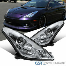 For 00-05 Toyota Celica Clear Projector Headlights Head Lights Lamps Left+Right