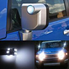 2Pcs Xenon White Side Mirror Lights LED Bulbs For Toyota FJ Cruiser Subaru WRX
