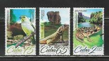 2019 Rare Species Lizard Frog Bird Caribbean Island Spanish Antilles Mnh Set