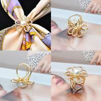 Women Alloy Crystal Wedding Bridal Bouquet Flower Brooch Rhinestone Pin Brooches