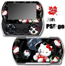Hello Kitty Bubble Dream SKIN STICKER for SONY PSP Go