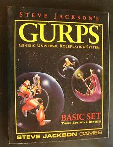 GURPS Basic Set Third Edition Revised by Steve Jackson