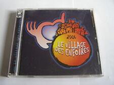 cd les enfoirés: le village des enfoirés 2006   2 CD